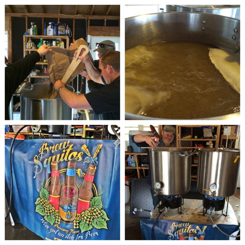 Brewsquitos v. Founders - Briess Pils Project Brew Day