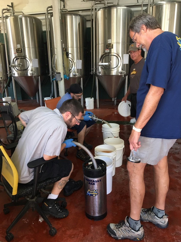 2019 Bell's Homebrew Competition wort pickup